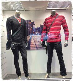 Porque ellos también quieren #Moda! #Caballeros #Juvenil 1er.Piso #jeans #sueter #Camisetas
