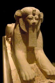 Sphinx Dynasty 18 reign of Hatshepsut 15th century BC