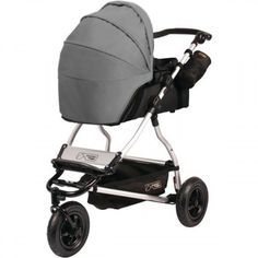 Mountain Buggy Swift + Carrycot black flint grey - Collection 2014 on Prams.net.