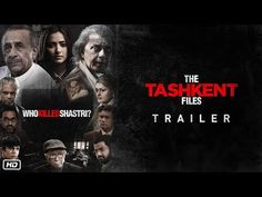 The Tashkent Files Official Trailer Releasing April Movies 2019, Hd Movies, Film Movie, Bollywood Movie Trailer, Latest Bollywood Movies, Bollywood News, Movies To Watch Hindi, Hindi Movies Online, Trailer Song