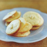 Almond Lemon Cookies...Yum!  (Just sub the flour for your fav gfree flour!)