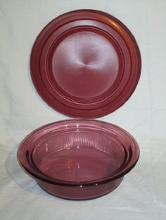Vintage Corning Vision Visionware Cranberry Casserole Baking Dish w Plastic Lid  1 Quart >>> For more information, visit image link.(This is an Amazon affiliate link and I receive a commission for the sales)