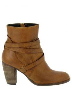 Bottines fashion spm marron ka10341250 chaussures femme spm