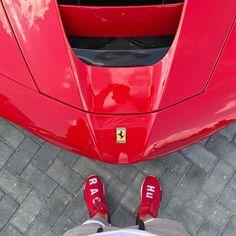 #Adidas #HumanRace #Ferrari #LaFerrari #CAMW #CarsAreMyWorld Photo @spjeweler