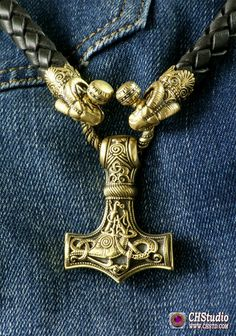 MJOLNIR - Leather Necklace / Aries