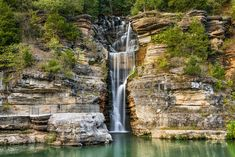 100 ft Indian Fall in Dogwood Canyon, Missouri Dogwood Canyon, Covered Bridges, Walking In Nature, Horseback Riding, Dream Vacations, Missouri, Places To See, Adventure, Idaho