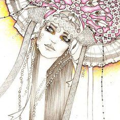 lili lu fashion illustration