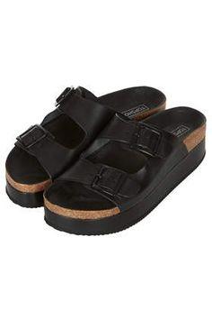 a35d8b14d85 FANG Double Buckle Flatform Sandals - Shop All Shoes - Shoes