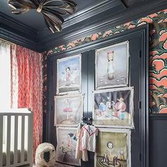 Eclectic Nursery, Eclectic, nursery, House of Honey