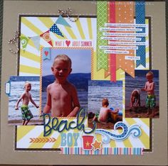 4 photo 1 page Beach Boy - | http://scrapbookphotos.micro-cash.org