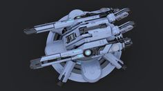 ArtStation - Quick Turret Kitbash, Andrew Hodgson