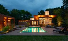 Theodore Wirth Ranch Modern Home in Minneapolis, Minnesota by Strand… on Dwell