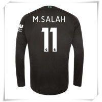 Camisa de Futebol Liverpool Mohamed Salah #11 Equipamento Alternativo 2019-20 Manga Comprida Mohamed Salah, Champions League, Uefa Champions, Premier League, Psg, Football Shirts, Manchester United, Real Madrid, Arsenal