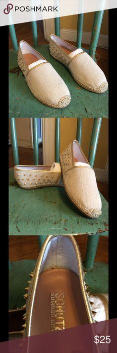 Shutz espadrilles Great Schultz espadrilles with spikes on them. Schultz Shoes Espadrilles