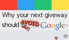 Google Plus Giveaway and Contest Rules Explained - good to know!