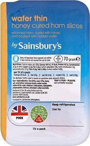 Sainsburys Wafer Thin Ham