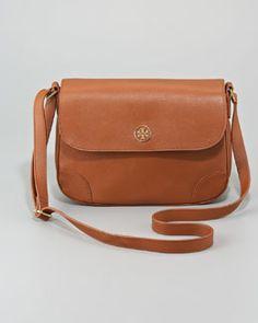 V0Y7B Tory Burch Robinson Triple-Gusset Crossbody Bag