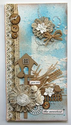 you are the sweetest -card- *Dusty Attic* - Scrapbook.com