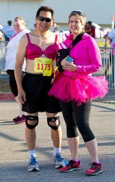 Real Men Wear Pink wrestling singlet breast cancer includes custom text