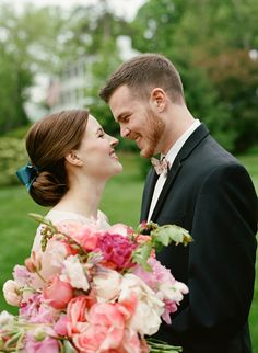 pretty preppy wedding | Whitney Neal