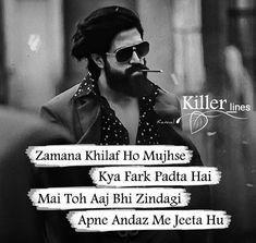 Attitude Status in Hindi Bad Words Quotes, Shyari Quotes, Swag Quotes, Status Quotes, Girl Quotes, Funny Quotes, Quotes In Hindi Attitude, Attitude Quotes For Boys, Hindi Shayari Attitude