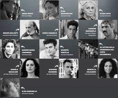 """Il cast di """"Via Castellana Bandiera"""" di Emma Dante"""