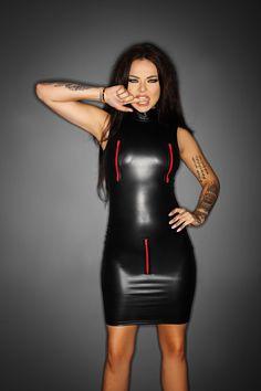 9426cf545e Leather Mini Dress