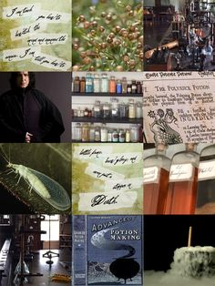 Hogwarts Aesthetic | Potions