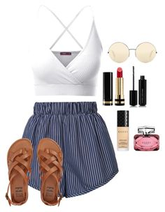 """""""Untitled 15"""" by becarrel on Polyvore featuring STELLA McCARTNEY, Doublju, Billabong, Gucci, Marc Jacobs and Victoria Beckham"""