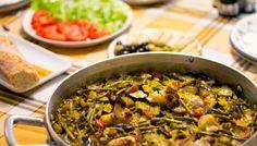 Paella vegana al estilo tradicional de la abuela :)