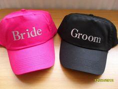 Bride & Groom caps