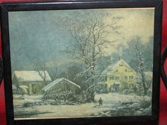 Rural America Farm House & Barn 1940's Vintage by TheIDconnection, $10.00