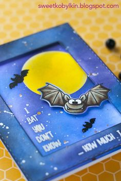 This video shows the process of making a Clean and Simple framed card creatively using partial die cutting technique for a fancy look. This card is made with the Bats stamps and dies set by Gerda Steiner Designs, and demonstrates partial die cutting, stamping die cuts, ink blending and resist techniques #clearstamps #handmade #cards #tutorial #colouring #cardmakingtutorial #cardideas #masking #diecutting #inkblending #coloring #copicsketch #cardvideo #videotutorial #gerdasteinerdesigns Copic Sketch, Card Making Tutorials, Masking, Die Cutting, Clear Stamps, Bats, Colouring, Handmade Cards, Stamping