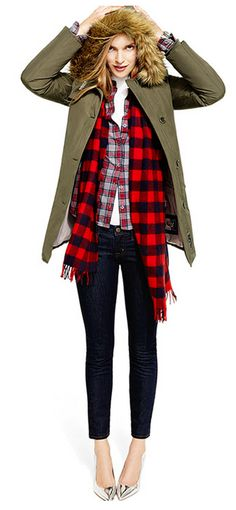 send winter out in style… all the plaids!
