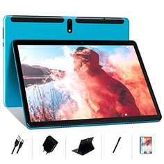 MEBERRY Tablet 10 Pollici Ultimo Android 10 OS: Octa-core 1.6 GHz Tablets PC 4GB + 64GB, Espansione SD da 128 GB | Do... Bluetooth, Tablet 10, Quad, Electronics, 4gb Ram, Amazon, Wifi, Operating System, Android