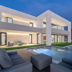 """TrillionaireGang on Instagram: """"€6,000,000. @delpozoarquitectos Pictures by @maximdeknock For more follow @trillionairegang. Picture/Video is not taken by us, all…"""" Architecture Quotes, Fantasy House, Mansions Homes, House Goals, How Beautiful, Picture Video, Real Estate, Luxury, House Styles"""