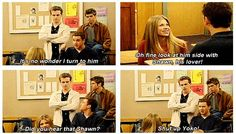Yeah, yeah, Topanga, blah blah. Cory and Shawn were meant for each other.