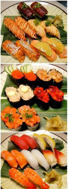 Delicious sushi: This is not right!! I won't sleep if I'll think of my fave foods! harrr!!