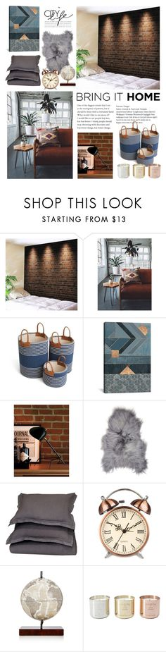 """""""raw space"""" by farawaylands ❤ liked on Polyvore featuring interior, interiors, interior design, home, home decor, interior decorating, Villa Home Collection, Zoffoli and Tom Dixon"""