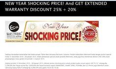 New Year Shocking Price di Electronic Solution, 31 Desember 2014 – 8 Januari 2015