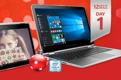 """Microsoft has begun its new 2015 """"12 Days of Deals"""" sale that we all know very well, and each day for 12 days a new window panel will reveal what is on sale next. Deal Sale, 12 Days, Daily Deals, Windows 10, Microsoft, Convertible, Kicks, Canada, Computers"""