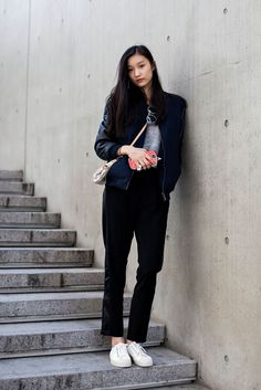 On the street… Jieun Hyun Seoul fashion week 2014 F/W | echeveau