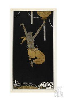 Designs On the Dances Of Vaslav Nijinsky Giclee Print