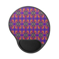 Tribal Fiery mousemat by #Linandara