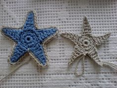 MICROCKNIT CREATIONS: Seaside, Seashells, Starfish and Fish.....
