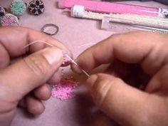 ▶ Anillo Flor con un Boton - YouTube