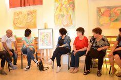 I TRATTI DELL'ANIMA... disegnare ad occhi chiusi UN CORSO-PERCORSO: Continuano i Seminari gratuiti alla Biblioteca Els...