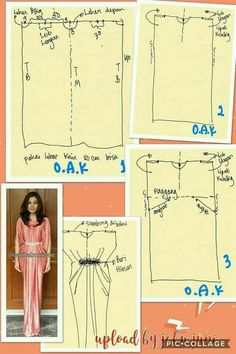 Sunkissed Kaftan Sewing Pattern by Pattern Emporium Sewing Clothes, Diy Clothes, Dress Sewing, Aya Couture, Clothing Patterns, Sewing Patterns, Kaftan Pattern, Dress Making Patterns, Caftan Dress