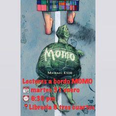 Lectores a bordo «Momo»