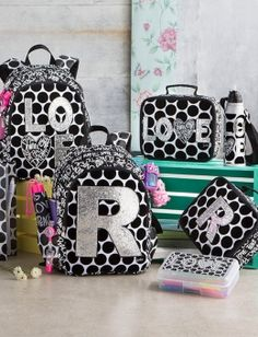Love Polka Dot Backpack | Girls Backpacks & School Supplies Accessories | Shop Justice